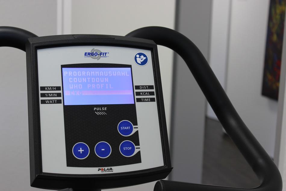Ergometer für ein Belastungs-EKG