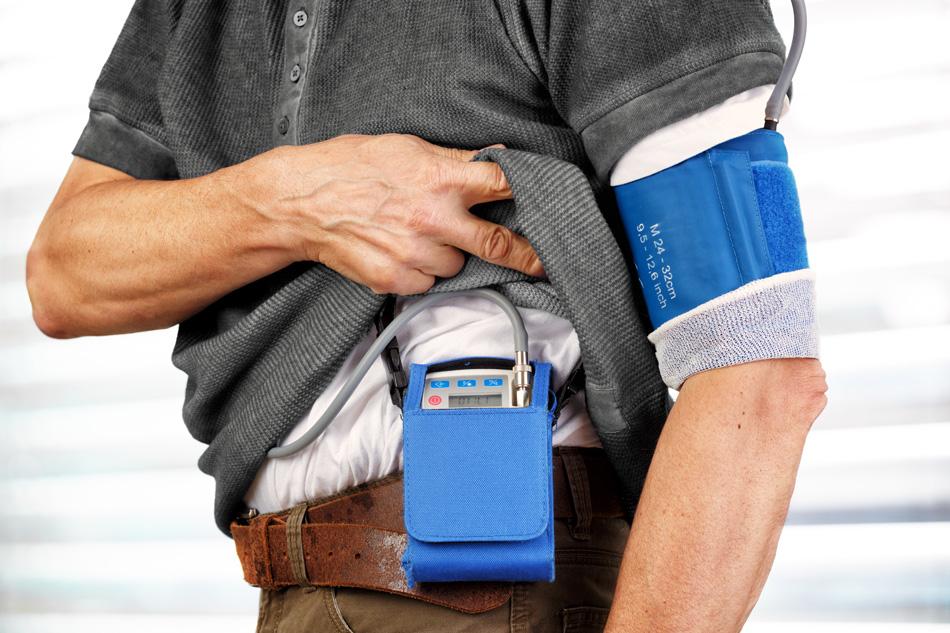 Blutdruckmanschette zur Langzeitblutdruckmessung
